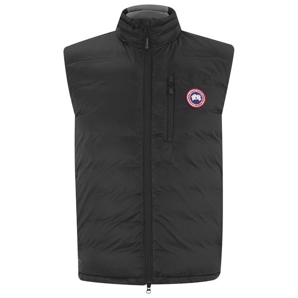 Canada Goose Men S Lodge Lightweight Gilet Black Free