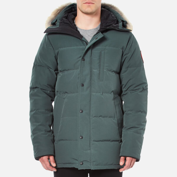 Canada Goose Men's Carson Down Filled Parka Jacket - Slate