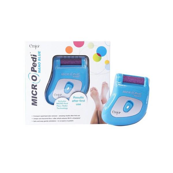Emjoi Micro-Pedi NANO outil de pédicure portable - Bleu