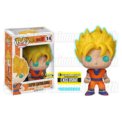Dragon Ball Z Glow-in-the-Dark Super Saiyan Goku Pop! Vinyl