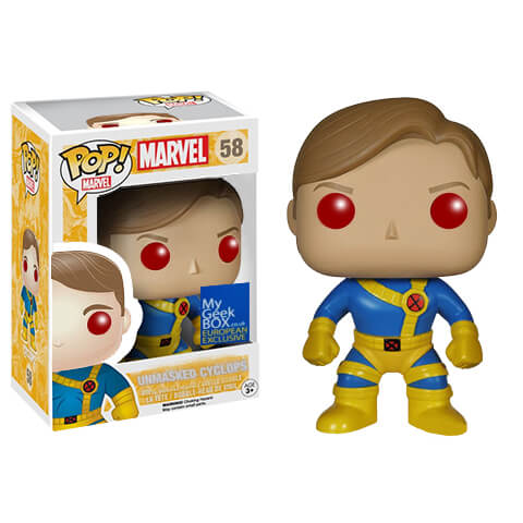 Marvel Comics POP! Vinyl Bobble-Head Unmasked Cyclop