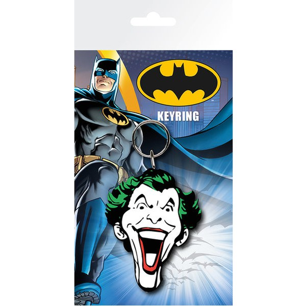 Porte-Clefs Batman Comic Visage le Joker - DC Comics