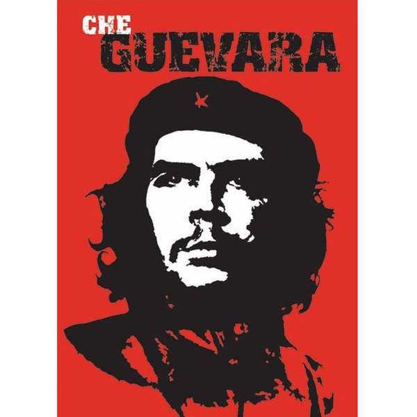 che guevara red 24 x 36 inches maxi poster iwoot