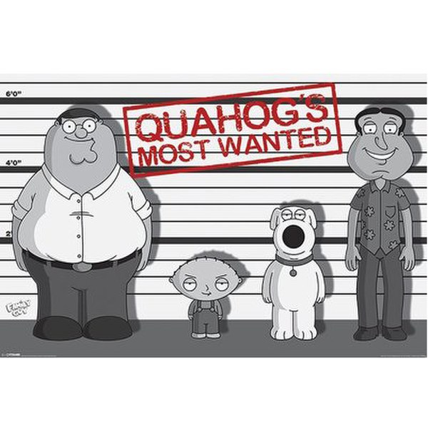 Family Guy Line Up - 24 x 36 Inches Maxi Poster