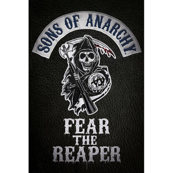 Sons Of Anarchy Fear The Reaper - 24 x 36 Inches Maxi Poster