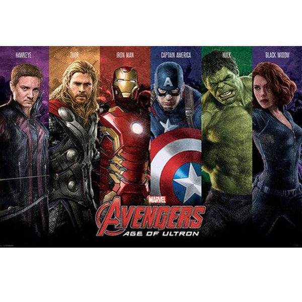 Marvel Avengers Age Of Ultron Team - 24 x 36 Inches Maxi Poster
