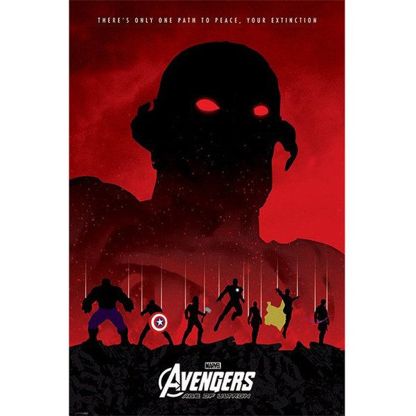 Marvel Avengers Age Of Ultron Extinction - 24 x 36 Inches Maxi Poster