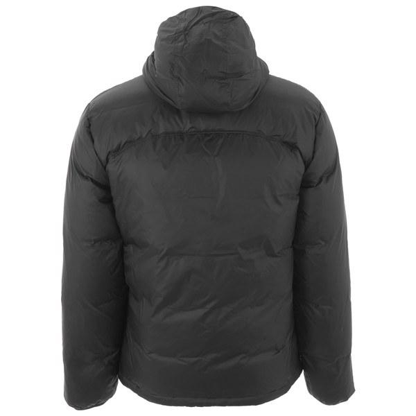 c7c3eb00cf541 Lacoste Men s Colour Block Padded Jacket - Black Clothing