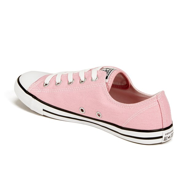 41e48595759b Converse Women s Chuck Taylor All Star Dainty OX Trainers - Pink Freeze   Image 5