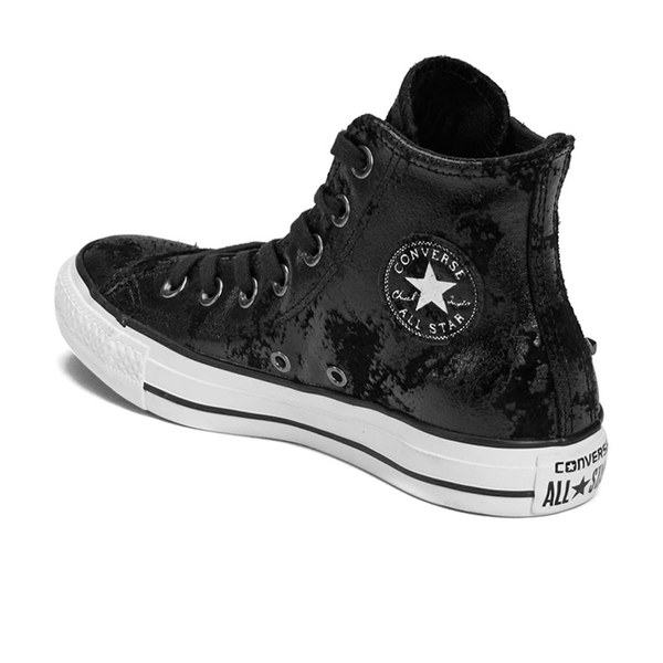 9370bafa244f Converse Women s Chuck Taylor All Star Hardware Hi-Top Trainers -  Black White