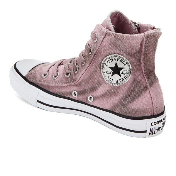 07965e2c51fb Converse Women u0027s Chuck Taylor All Star Dual Zip Wash Hi-Top Trainers -