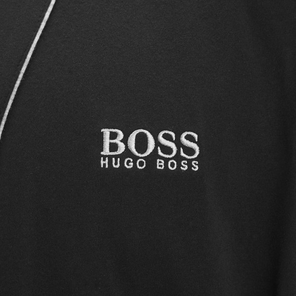 Boss Hugo Boss Mens Cotton Dressing Gown Black Free Uk Delivery