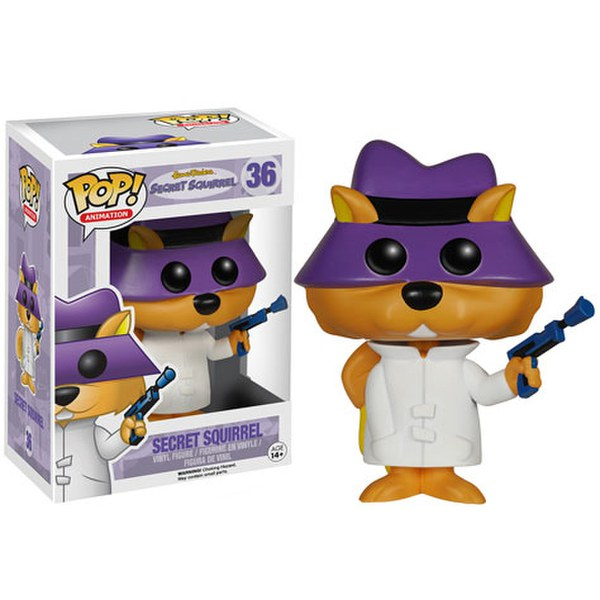 Hanna-Barbera Secret Squirrel Pop! Vinyl Action Figure