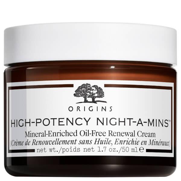 Origins High Potency Night-A-Minsmineralberiket oljefri foryngende krem 50ml