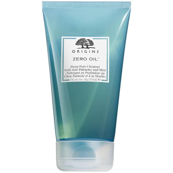 Origins Zero Oil Deep Pore Cleanser with Saw Palmetto & Mint 150ml