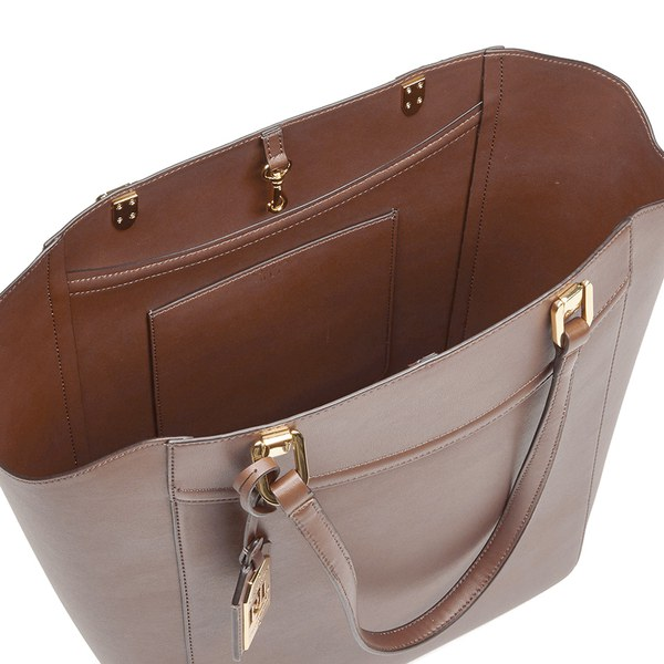 a7c95e1009 Lauren Ralph Lauren Women s Lexington Tote Bag - Bourbon  Image 6
