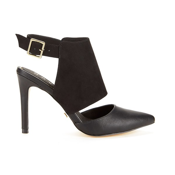 Ravel Women's Fort Worth Front Strap Court Shoes - Black