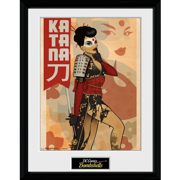 DC Comics Katana - 16 x 12 Inches Framed Photographic