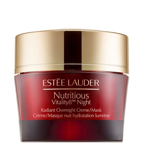 Estée Lauder Nutritious Vitality8 Night Radiant Overnight Creme/Mask 50ml