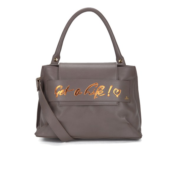 Vivienne Westwood Women's Get A Life Mini Tote Bag - Taupe