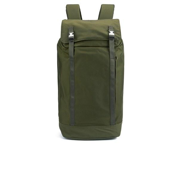 C6 Men's Slim Backpack - Olive Nylon