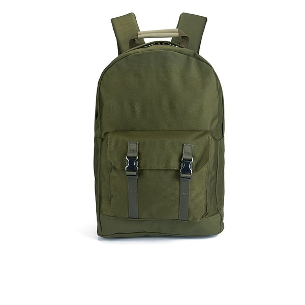 C6 Men's Pocket Backpack - Olive Nylon