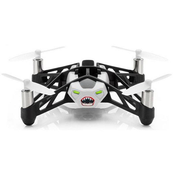 Parrot Minidrone Rolling Spider Drone with Camera - White - Manufacturer Refurbished