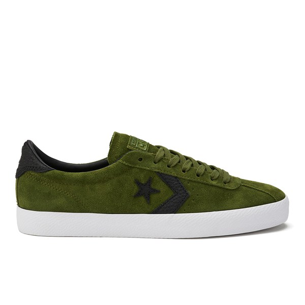 f083ce0348d6 Converse CONS Breakpoint Premium Suede Trainers - Imperial Green White Black   Image 1