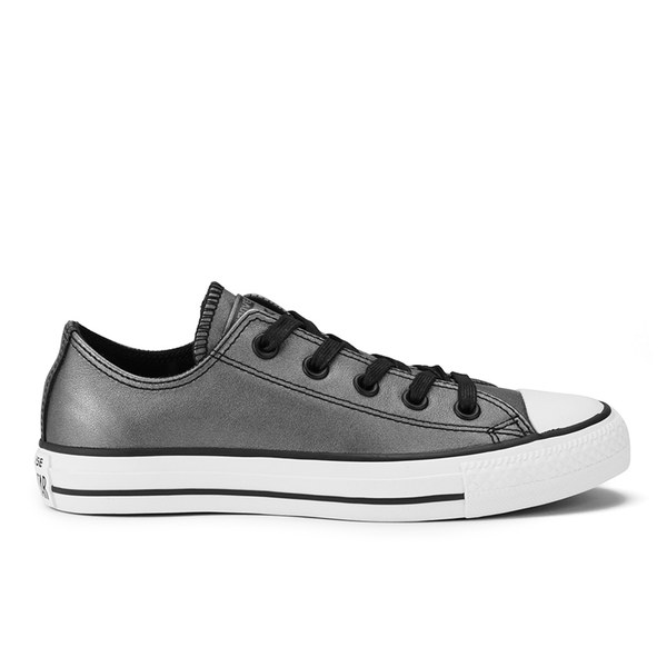 Converse Women s Chuck Taylor All Star Shift Leather Ox Trainers - Black   Image 1 cfd207528