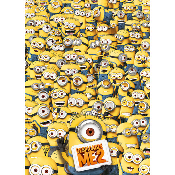Despicable Me 2 Many Minions - 40 x 55 Inches Giant Poster