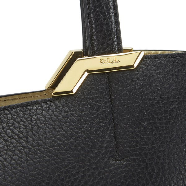 Lauren Ralph Lauren Women\u0027s Acadia Shopper - Black: Image 3