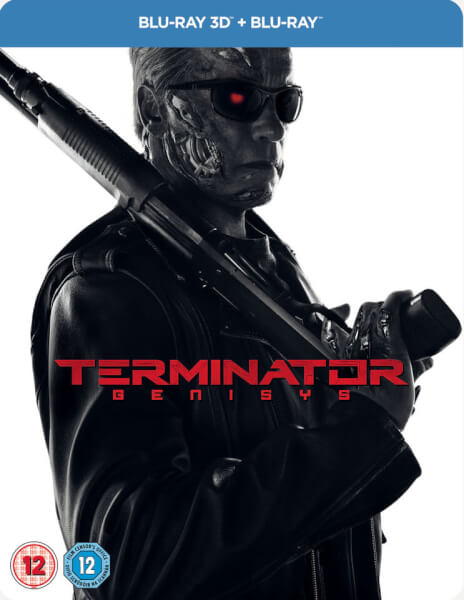 Terminator Genisys 3D (Includes 2D Version) - Zavvi Exclusive Limited Edition Steelbook (UK EDITION)