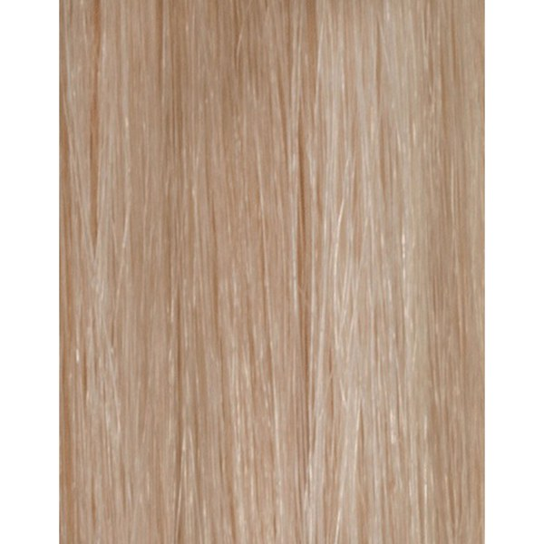 Échantillon d'extension de cheveux 100% Remy de Beauty Works - Blond Champagne 613/18