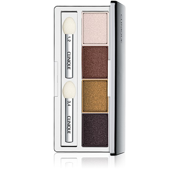 Paleta sombra de ojos 4 colores Clinique All About Shadow Morning Java