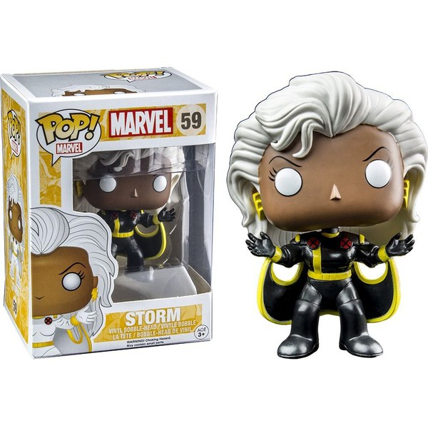 Marvel X-Men Storm Black Suit Exclusive Pop! Vinyl Figure