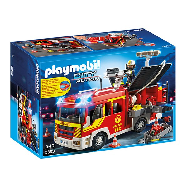Playmobil Fire Engine (5363)