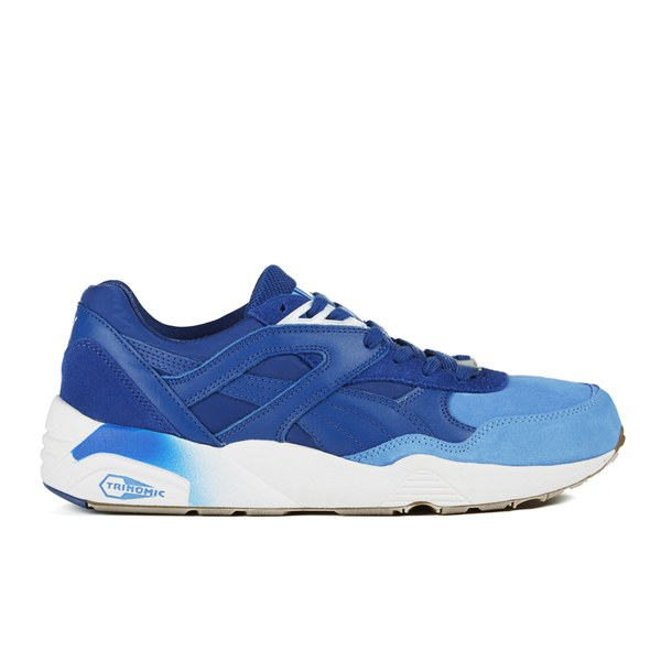 6e7cb0dd5a7b Puma Men s R698 Blocked Trainers - Limoges  Image 1