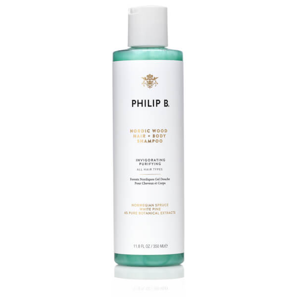 Philip B Nordic Wood Hair and Body Shampoo (350 ml)