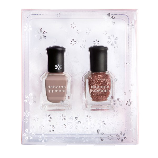 Deborah Lippmann Nail Varnish - Roses in the Snow (2x8ml)