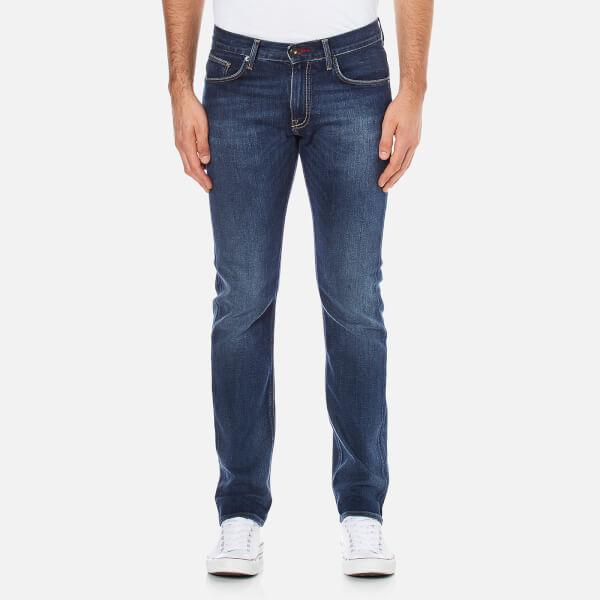 Tommy Hilfiger Men's Denton Straight Leg Denim Jean - Middle Blue