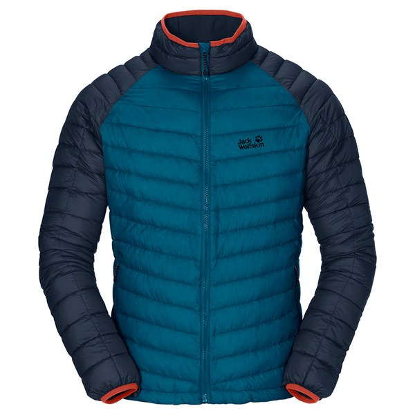 Jack Wolfskin Men's Zenon Basic Down Filled Jacket - Moroccan Blue ...