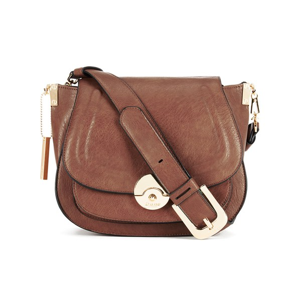 Dune Delphine Cross Body Bag - Tan