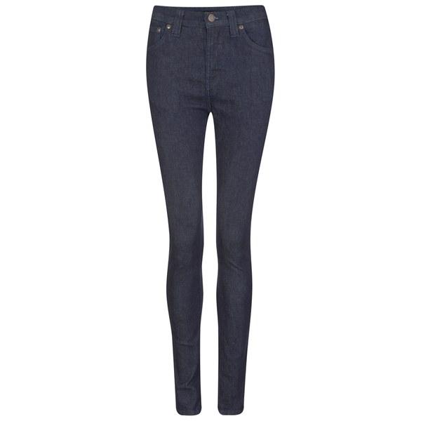 Nudie Jeans Women's Pipe Led Jeans - Dry Dark Navy