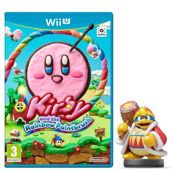 Kirby and the Rainbow Paintbrush + King Dedede No.28 amiibo Pack