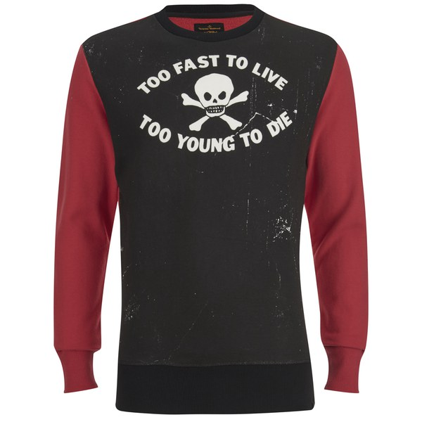 Vivienne Westwood Anglomania Men's Too Fast Sweatshirt - Black