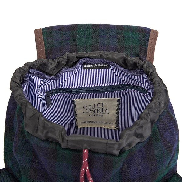 ccb2103d280 Herschel Supply Co. Select Series Dawson Watch Plaid Backpack - Black   Image 4
