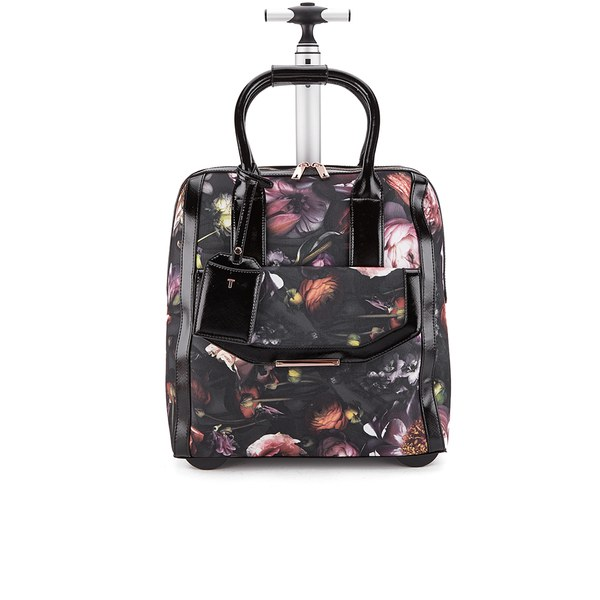 7b2587b80b6 Ted Baker Women's Shaniya Shadow Floral Travel Bag - Mid Grey: Image 1