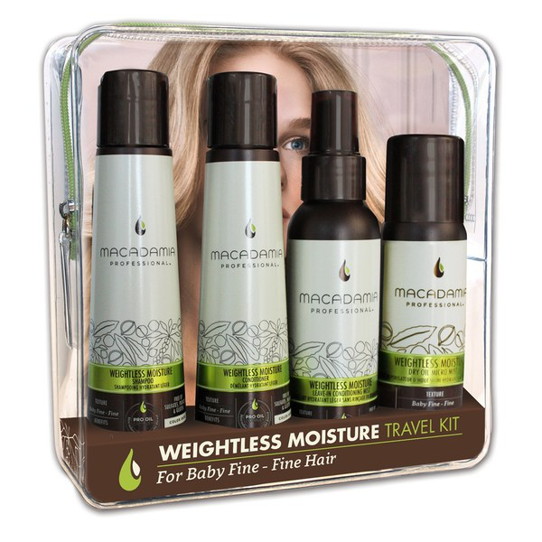 Kit de viaje Weightless Moisture de Macadamia