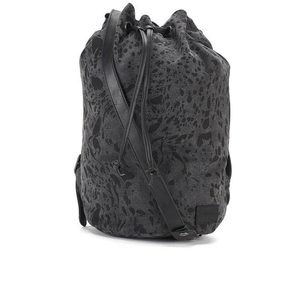 OBEY Clothing Women's Antwerp Bucket Backpack - Black Multi