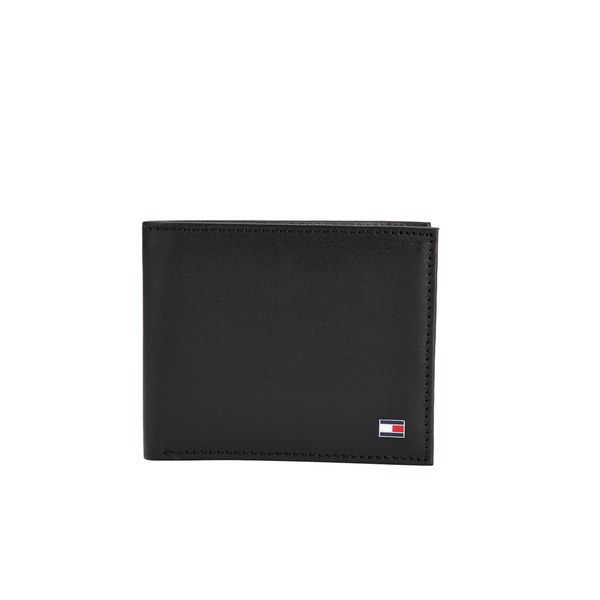 Tommy Hilfiger Men's Eton Mini Credit Card Wallet - Black